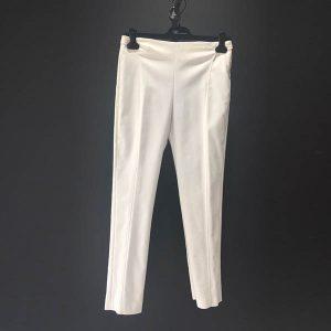 pantalón strech blanco blumarine
